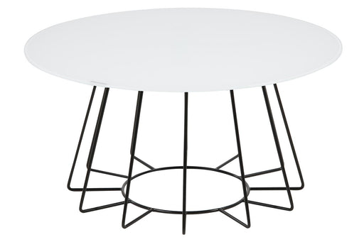 Table basse CASIA | Blanc & Noir