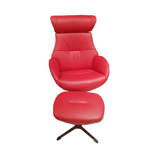 Fauteuil Globe | Rouge