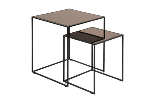 Set de 2 tables basse Bolton | Bronze