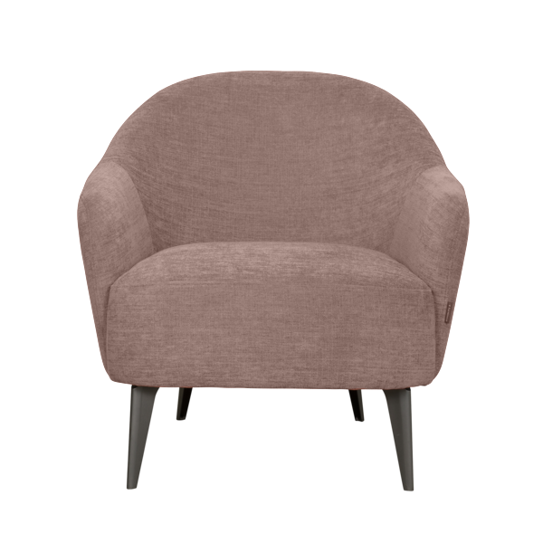 Fauteuil Lucy | Saumon