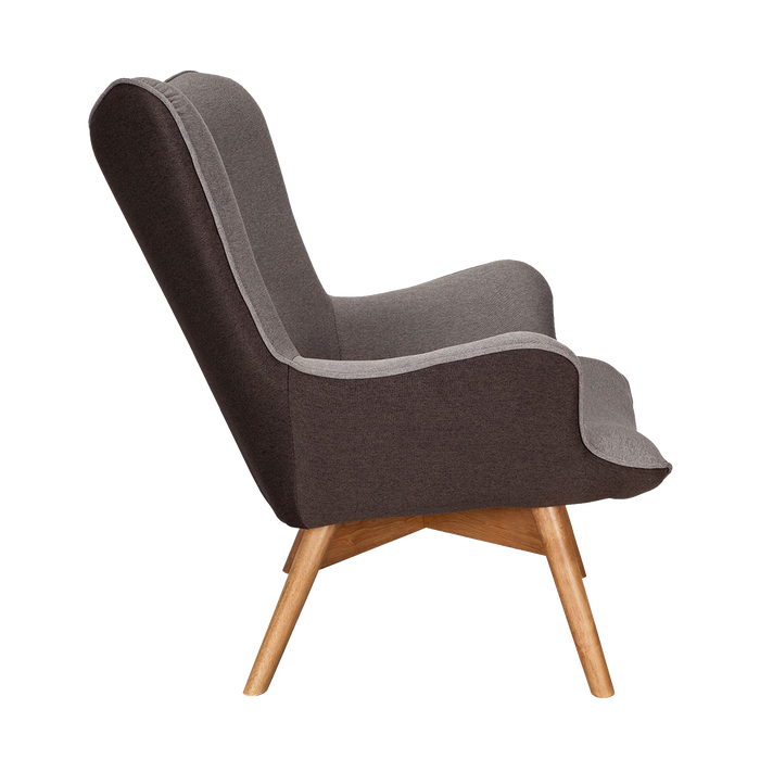 Chaise Twist | Anthracite, Gris