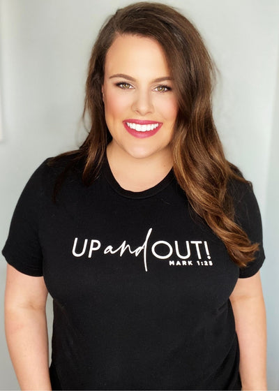 Up and Out! Tee - Clothed in Grace