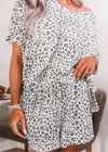 Animal Print Pj set - Clothed in Grace