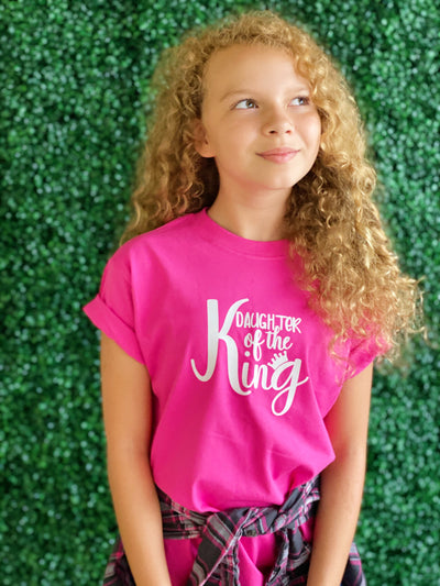 Daughter of the King- Kids tee - Clothed in Grace
