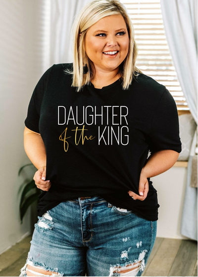 Daughter of the King - plus size - Clothed in Grace