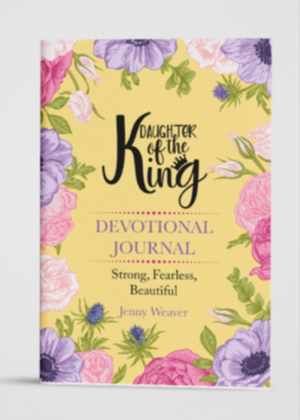 Daughter of the King Devotional journal - Clothed in Grace