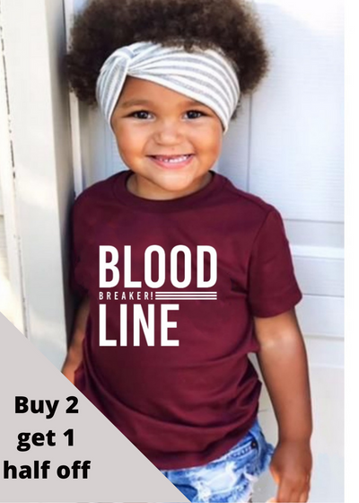 Bloodline breaker KIDS tee - Clothed in Grace