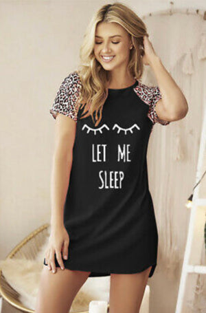 Let Me Sleep Night gown - Clothed in Grace