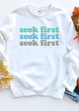 Seek First pullover - Clothed in Grace