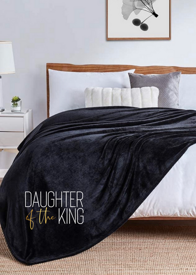 Daughter of the King Blanket - Clothed in Grace