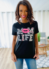 Mom Life Tee - Clothed in Grace