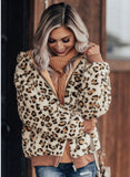 Leopard Plush Coat - Clothed in Grace