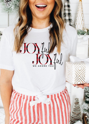 Joyful Joyful tee - Clothed in Grace