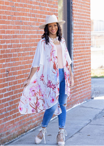 Lily of the Valley Kimono - Clothed in Grace