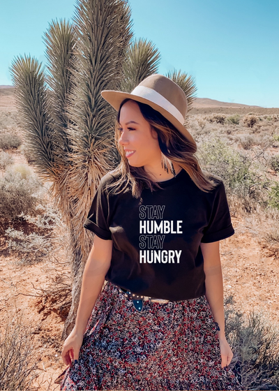 Stay Humble tee - Clothed in Grace