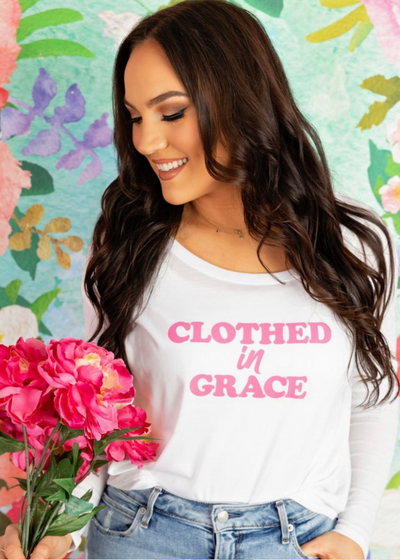 Clothed in Grace Flowy top - Clothed in Grace