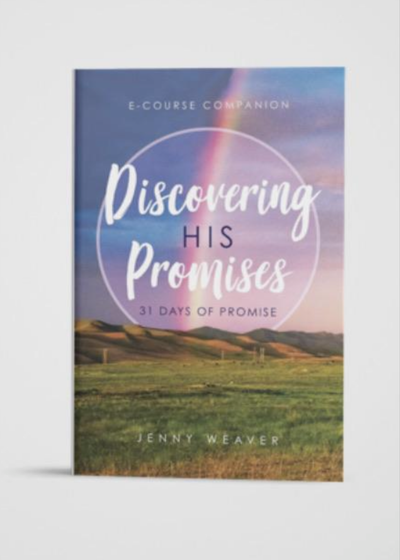 Discovering His Promises book - Clothed in Grace