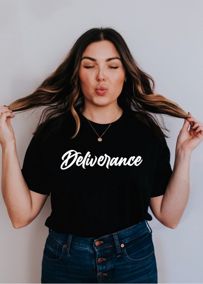 Deliverance - Tee - Clothed in Grace