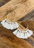Bohemian tassel earrings - Clothed in Grace