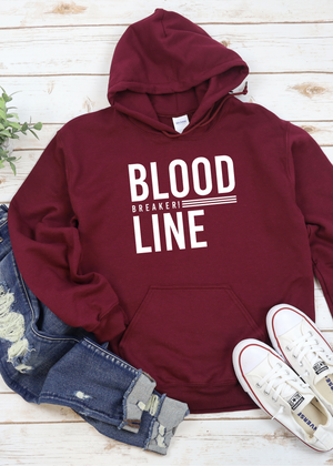 Bloodline breaker Hoodie - Clothed in Grace