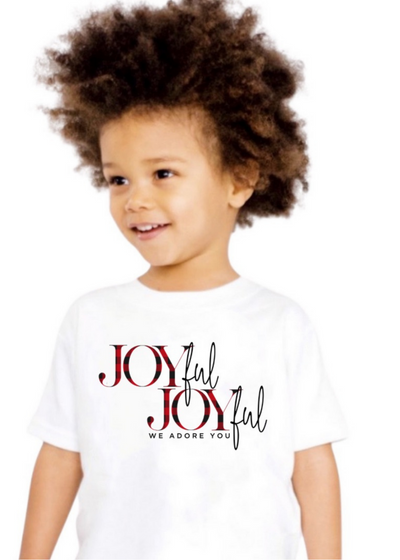 Joyful Joyful kids tee - Clothed in Grace