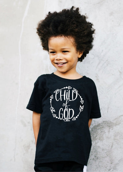Child of God -Kids tee - Clothed in Grace