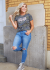 Love Your Neighbor-Camo tee - Clothed in Grace