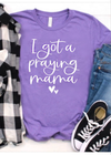 Praying Mama tee - Clothed in Grace