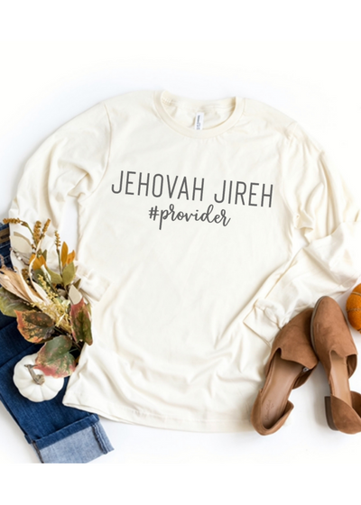 Jehovah Jireh - long sleeve - Clothed in Grace