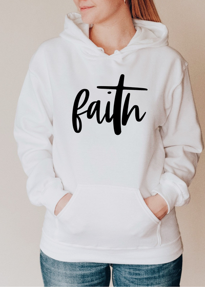 Faith Hoodie - Clothed in Grace