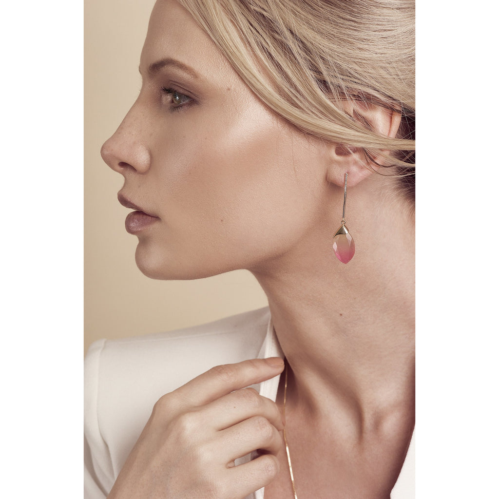 Delilah Gold Blush Earrings