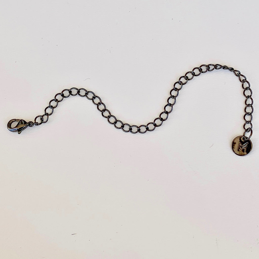 Chain Extension- GUNMETAL