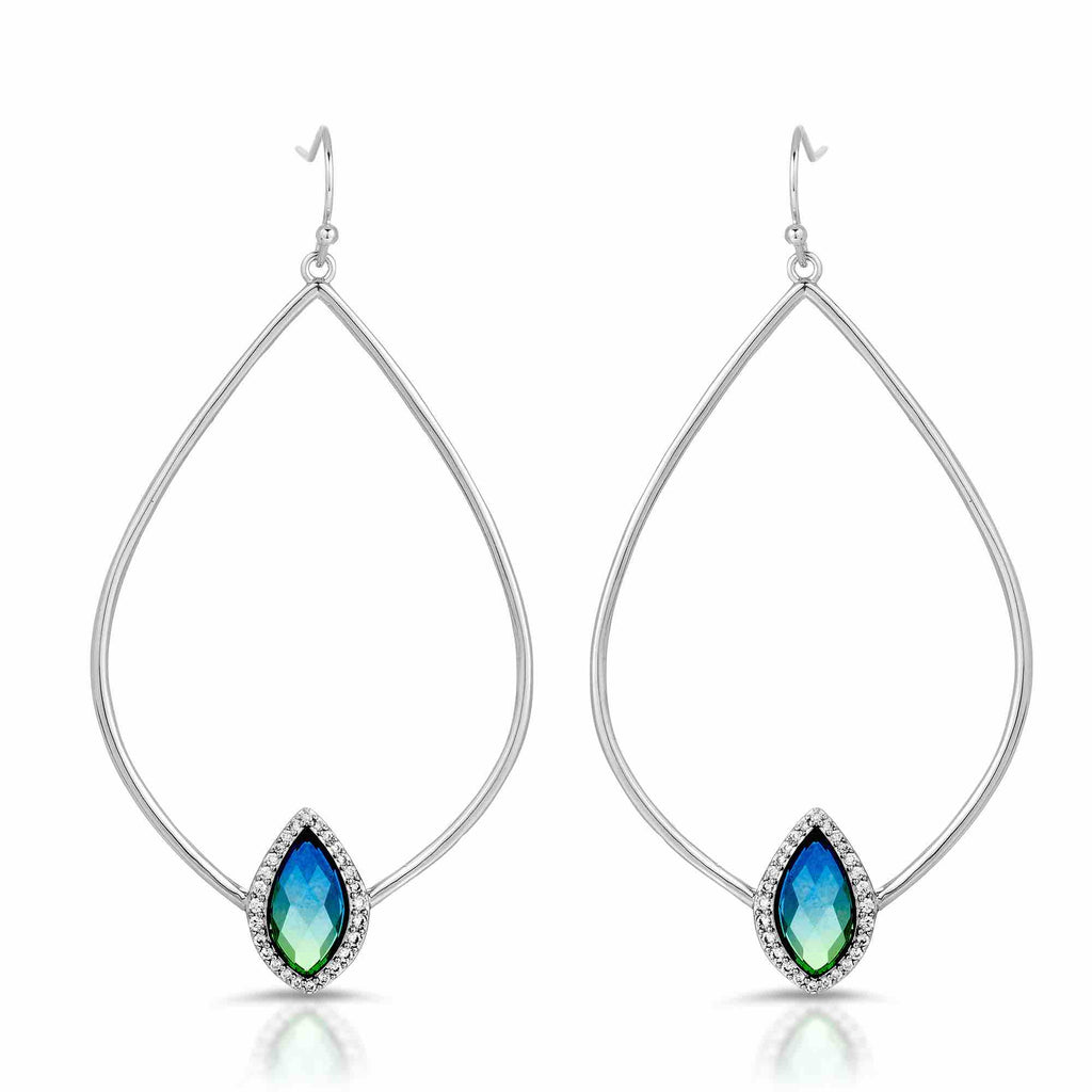 Tempest Silver Sky Earrings