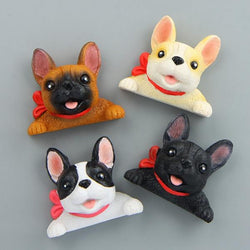 Superhero Frenchie Magnets