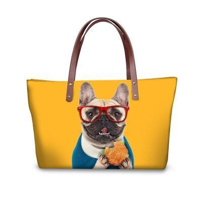Image of Pawsome Frenchies Tote Bag