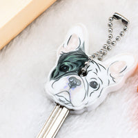 Image of Frenchie Silicone Key Cover