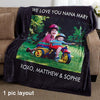 Personalized Picture Fleece Blankets
