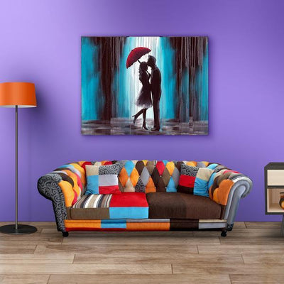 """Like The Rain, I Have Fallen For You"" Wall Art"