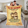You are Special to Me Never Forget That I Love You Customized  Blanket, Anniversary ,Birthday Gift to My Wife I Love You