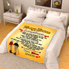"""How Much You Mean To Me"" Customized Blanket For Couple"