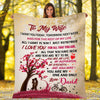 """You Are My One And Only"" Customized Blanket For Wife"