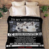 """Love Made Us Forever Together""- Personalized Blanket"