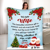 """The Love I Have For You Will Last Forever, Customized Blanket For Wife"""