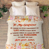 """Life You're Always Near""- Personalized Blanket"