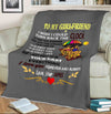 """I Wish I Could Turn Back The Clock""- Personalized Blanket"