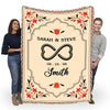 Customized Blanket For Couple- Made For Each Other