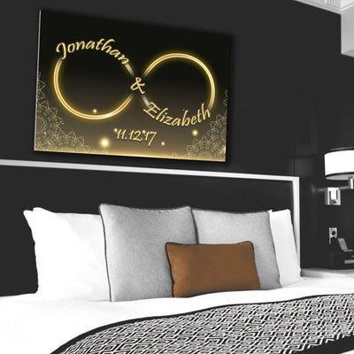 Custom Canvas Wall Art - Made For Each Other
