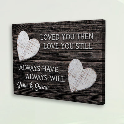 Love You Always Premium Canvas Wall Art