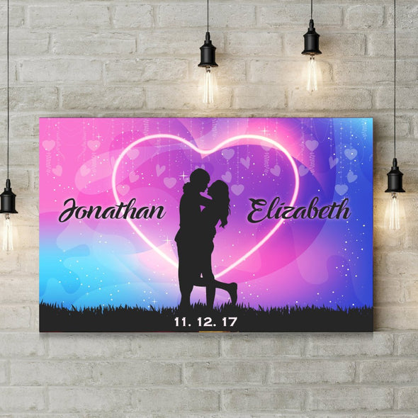 Personalized Love Wallart