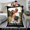 "Custom Photo Blanket ""The Perfect Gift"""